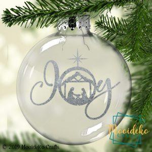 Joy Floating Christmas Ornament