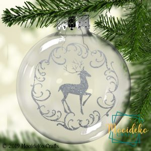 Reindeer Floating Christmas Ornament