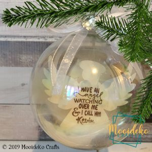 Remembrance Angel Floating Ornament