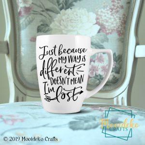 Way Different 8 oz Stoneware Coffee Mug