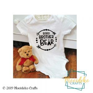 Baby Brother Bear Onesies
