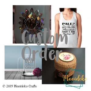 Custom Order – Double side T shirt Personalization