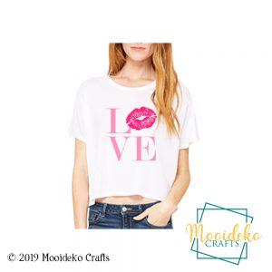Love Lips Flowy Shirt