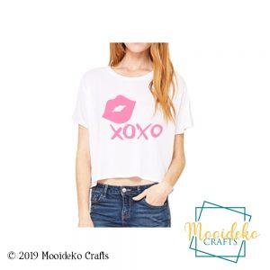 XOXO Lips Flowy Shirt
