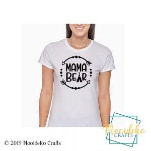 Mama Bear Women T-shirt