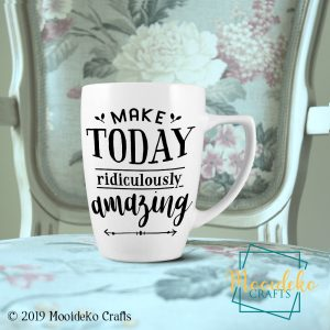 Make Today Ridiculously Amazing 8 oz Stoneware Coffee Mug
