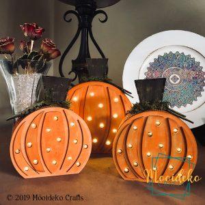Pumpkin Patch Trio Table Top