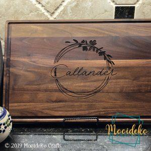Personalized Cutting Board – Walnut